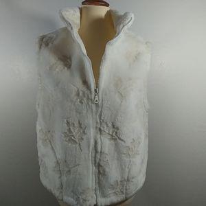 Cold Water Creek faux fur Vest